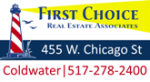 First Choice Real Estate Associates – Michael Thompson, Broker